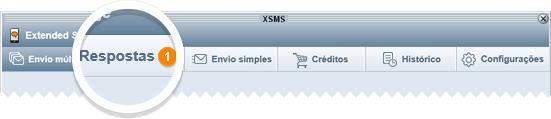 Aviso de resposta no XSMS
